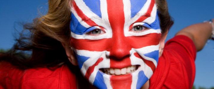 English face